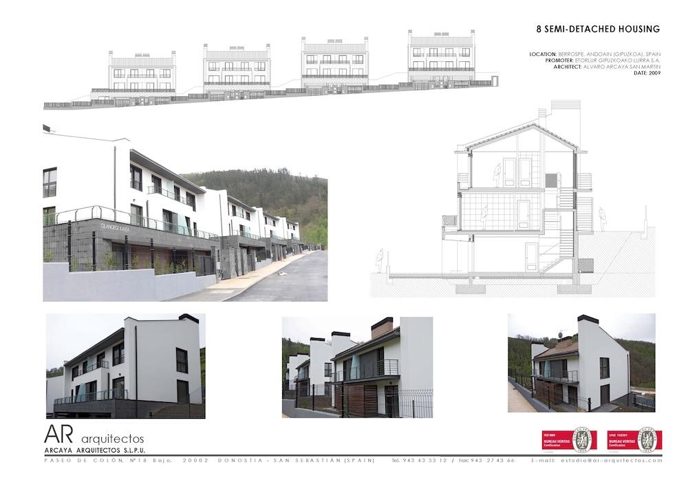 Berrospe arcaya arquitectos proyectos de arquitectura - Arquitectos san sebastian ...